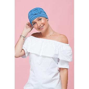 Chapéus de quimioterapia para adolescentes | Oceano Azul primrose