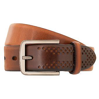 LLOYD Men's Belt sbelt men's belt full cowhide men's leather belt Brandy 3307