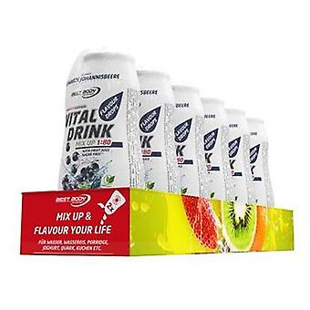 Best Body Nutrition Vital Drink Squeeze Black Currant 12 x 48 ml