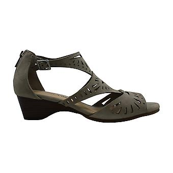 Bella Vita Womens Penny Leather Open Toe Casual Ankle Strap Sandals