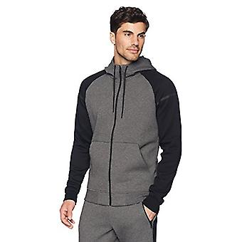 Peak Velocity Men's Metro Fleece Full-Zip Athletic-Fit Varsity Hoodie, noir/...