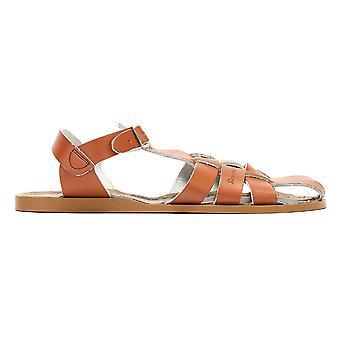 Salt Water Shark Womens Tan Sandals