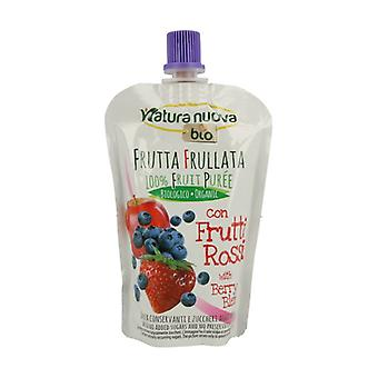 Apple, Blueberry and Strawberry Puree Doypack Bio 100 g