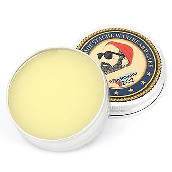 Men Beard Wax Leave Moisturizing Cream Lubricating