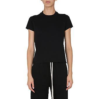 Rick Owens Drkshdw Ds20f1208rn09 Women's Black Cotton T-shirt