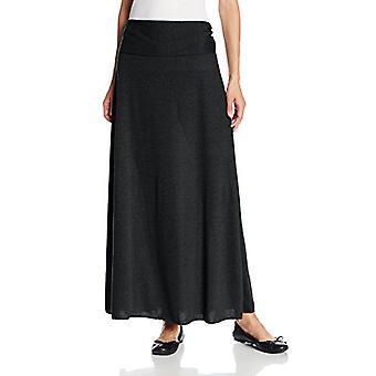 Star Vixen Women's Foldover Waist Maxi Skirt