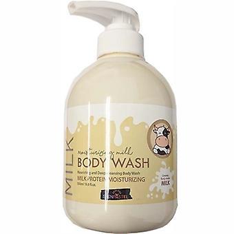 Skinpastel Soft Milk Body Wash 16.9oz / 500ml