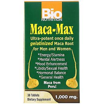 Bio Nutrition, Maca Max, 1,000 mg, 30 Tablets