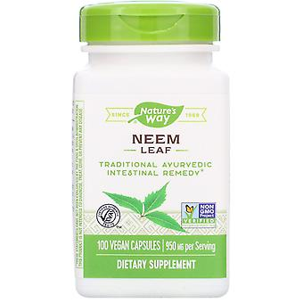 Nature's Way, Neem Leaf, 950 mg, 100 Vegan Capsules