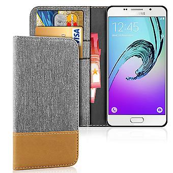 Mobilfordral Jeans für Samsung Galaxy A3 (2016) Full Cover Synthetisches Leder Resusto