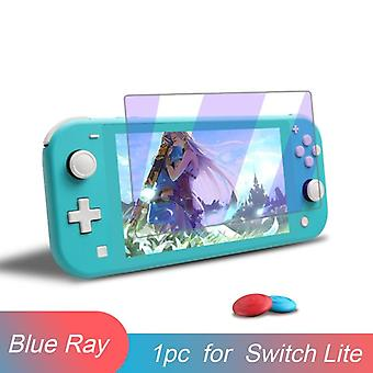 Premium Tempered Glass-screen Protector-film & Thumbsticks For Nintendo Switch-9h Accessories For Nintend Switch Lite Ns