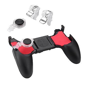 5 في 1 Pubg Moible تحكم Gamepad مجانا النار L1 R1 مشغلات Pugb لعبة موبايل