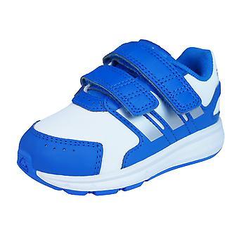 Adidas LK Sport CF I Infant / bambino ragazzi formatori / scarpe - bianco blu