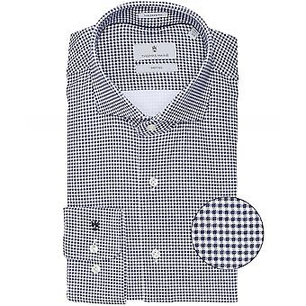 Thomas Maine Tailored Fit Knitted Flex Shirt