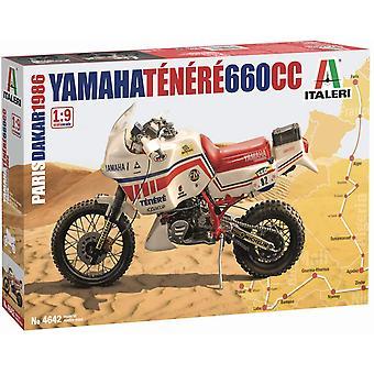 Italeri IT4642 - 1/9 Yamaha Tenere 660cc 1986 Parijs - Dakar Version Motorcycle Kit
