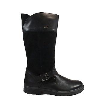 Primigi Sandra 6365811 Black Suede/Leather Girls Gore-Tex® Long Leg Boots