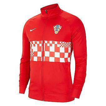 2020-2021 クロアチア ナイキ アンセム ジャケット (レッド)
