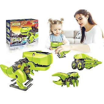 Solar Robot 3 In 1 Diy Dinosaurs Educational Toy