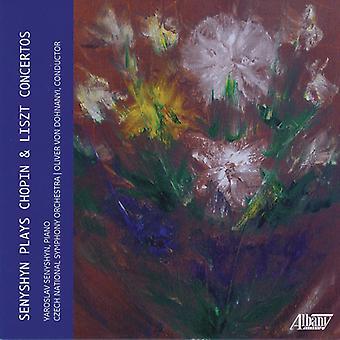Senyshyn Plays Chopin & Liszt Concertos [CD] USA import