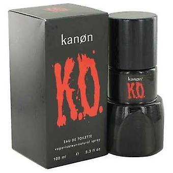 Kanon Ko By Kanon Eau De Toilette Spray 3.3 Oz (men) V728-498260