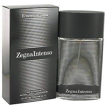 Zegna Intenso Eau De Toilette Spray Ermenegildo Zegna 3,4 oz Eau De Toilette Spray