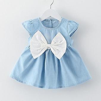 Mädchen Baby Kleider Muster, Druck Zitrone, Cartoon, weibliche Baby Sommer Kinder