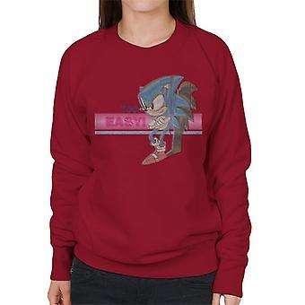 Sonic der Igel zu einfach Frauen's Sweatshirt