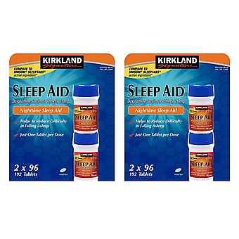 Nattetid Kirkland Sleep Aid 25mg Doxylamine Succinate tabletter 25mg
