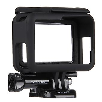 PULUZ ABS Plastic Housing Shell Frame Mount Protective Case Cage with Pedestal and Long Screw for GoPro HERO(2018) /7 Black /6 /5
