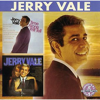 Jerry Vale - Time Alone Will Tell/This Guy's in Love with You [CD] USA import