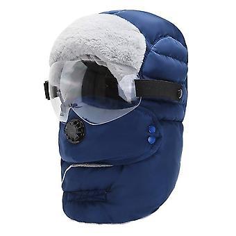 Chapéu quente de inverno Cap Homens Fora de Moda Impermeável Óculos de Capuz Balaclava Original
