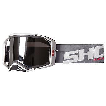 Shot Lite Motocross MX Enduro OFF Road Prospect Vision Goggle Grey White