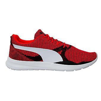 Puma Dubleks Evo Örgü Kırmızı Tekstil Erkek Bağcıklı Eğitmenler 362043 01