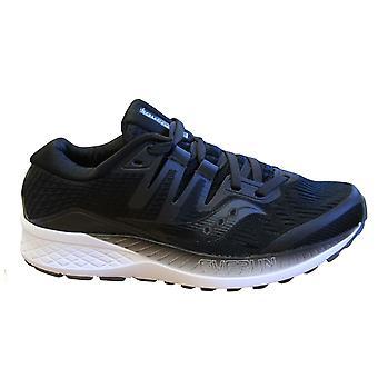 Saucony Ride Iso zapatillas negras femenil encaje zapatos de running S10444 2