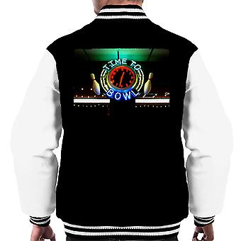 The Big Lebowski Dags att bowla Neon Sign Men's Varsity Jacket