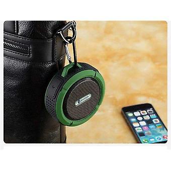 Full Range, wasserdicht und tragbare Mini Bluetooth Lautsprecher mit Saugnapf