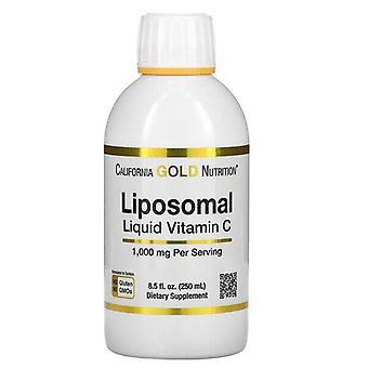 California Gold Nutrition, Liposomal Liquid Vitamin C, Unflavored, 1,000 mg, 8.5 fl oz (250 ml)