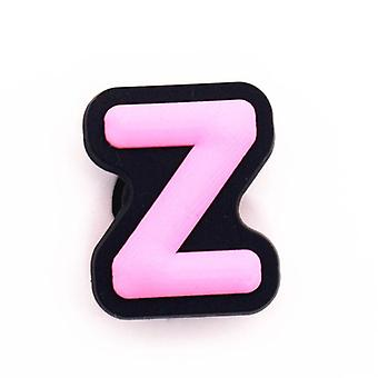 1pcs Charms Decoration English Letters Combination Shoe Accessories