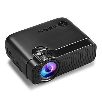 YJ333 LCD-projektori 2800 Lumens Tuki 1080P Tulo Useita portteja Kannettava Smart Home Theater Proje
