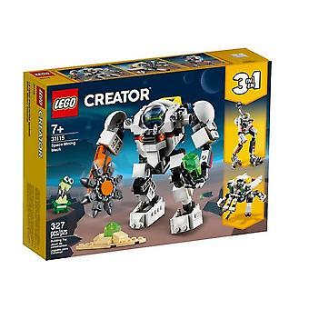 LEGO 31115 luojan avaruuslouhinta mecha