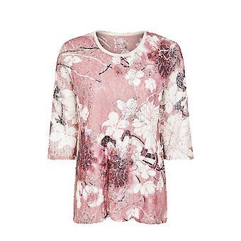 TIGI Pink Lace Top