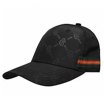 Luke 1977 Giles Logo Black Polyester Baseball Cap