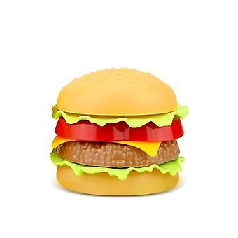 Simulated Fast Food-hamburger, Hotdog, Burger-kitchen Toy Set