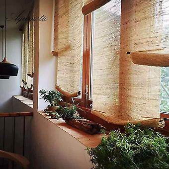 Aqumotic Room Dividers And Folding Privacy Screens Natural Retro Curtain