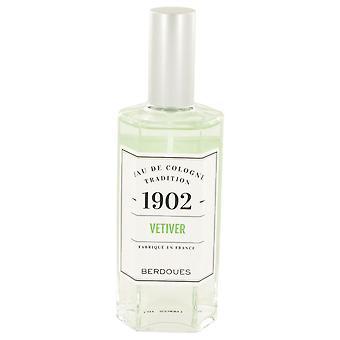 1902 Vetiver Eau De Cologne Spray (Unisex) By Berdoues 4.2 oz Eau De Cologne Spray
