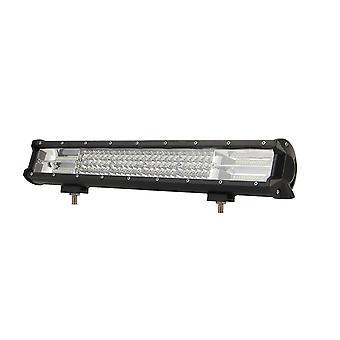 12 Zoll 216w LED Licht Bar Work Spot Flut Combo führte off Straßenbeleuchtung fahren Nebel