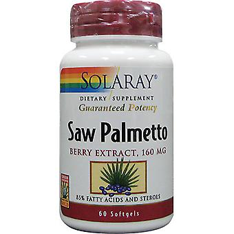 Solaray Saw Palmetto 60 Cápsulas