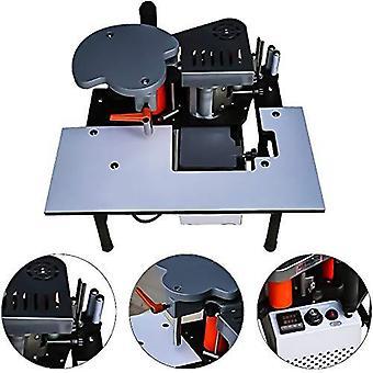 Portable Edge Bander Banding Machine, Mini Bander Double Sided Gluing