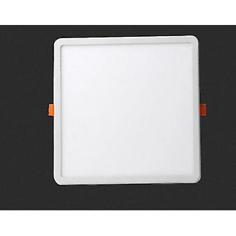 Led Panel Light Ultra-thin Recessed Downlights Round Square Ceiling Panel Lamp