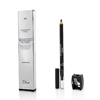 Diorshow khol blyant vanntett med spisser # 099 svart khol 215319 1.4g/0.04oz
